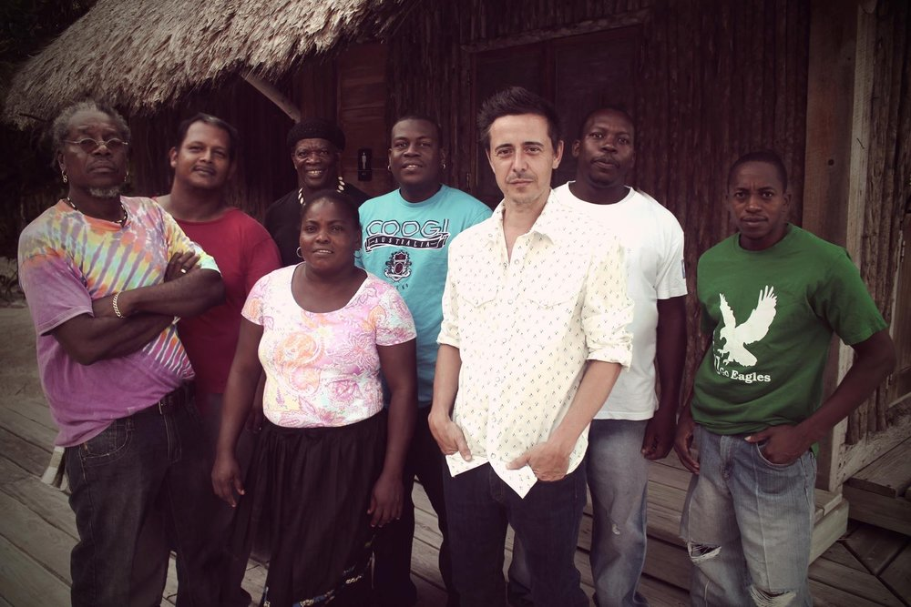 "- The Garifuna Collective of Belize ~ 15 years ago Danny's life led him down a long and winding road where he travelled to Belize, found The Garifuna Collective (a unique Afro-Amerindian cultural group) and convincing them to make an album together. That album (""Black Birds Are Dancing Over Me"") was quoted as ""One of the finest musical works of our time"" By Billboard's Larry Leblanc. The album landed Danny a 3rd Juno nomination, a coveted Polaris Prize nom & a sold out summer tour of North America."