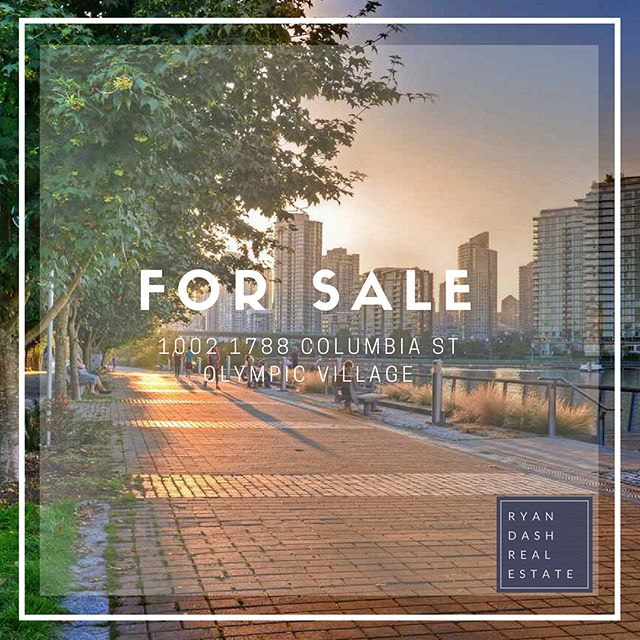 Man Olympic Village has some nice apartments! 🏡 Check out this beauty listed by fellow Oakwyn agent @antoniovargas111 . Boasting 2 Beds 🛏 + 2 Baths 🛀& Flex 💪🏼 space, this beauty is located on the tenth floor of EPIC. . With breathtaking 🤭, unobstructed water views😎, this sought after neighbourhood is host to many working professionals and young families. . With the ease of 2 Skytrains, 🚶 walking distance to all the local 🔥 hot spots, steps from the sea 🌊 wall and more! . Enjoy 😊 all the best amenities and convenience of a garden park, concierge, and underground parking. . Measuring: 982 SF Bedrooms: 2 + Flex Bathrooms: 2 Recently Reduced to: $1,250,000 . #makeithappen #propertygame #topproducer #videoboss #olympicvillage #oakwynrealty #ownyourmarket #propertygame #vancouver #vancouverisawesome #vancouverrealestate #vancitybuzz #realtorwork #standout #aquabus #seawall #bringithome #thevancouverlife #workingweekend #entrepreneur