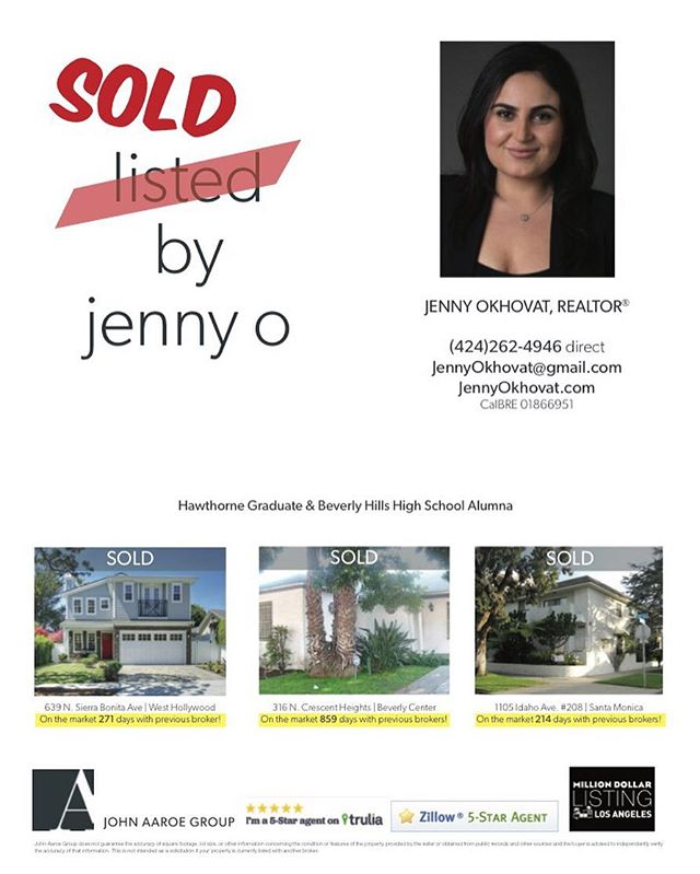 ✨Thank You✨ to all my friends who grab their copy every week! #beverlyhillsweekly #realestate