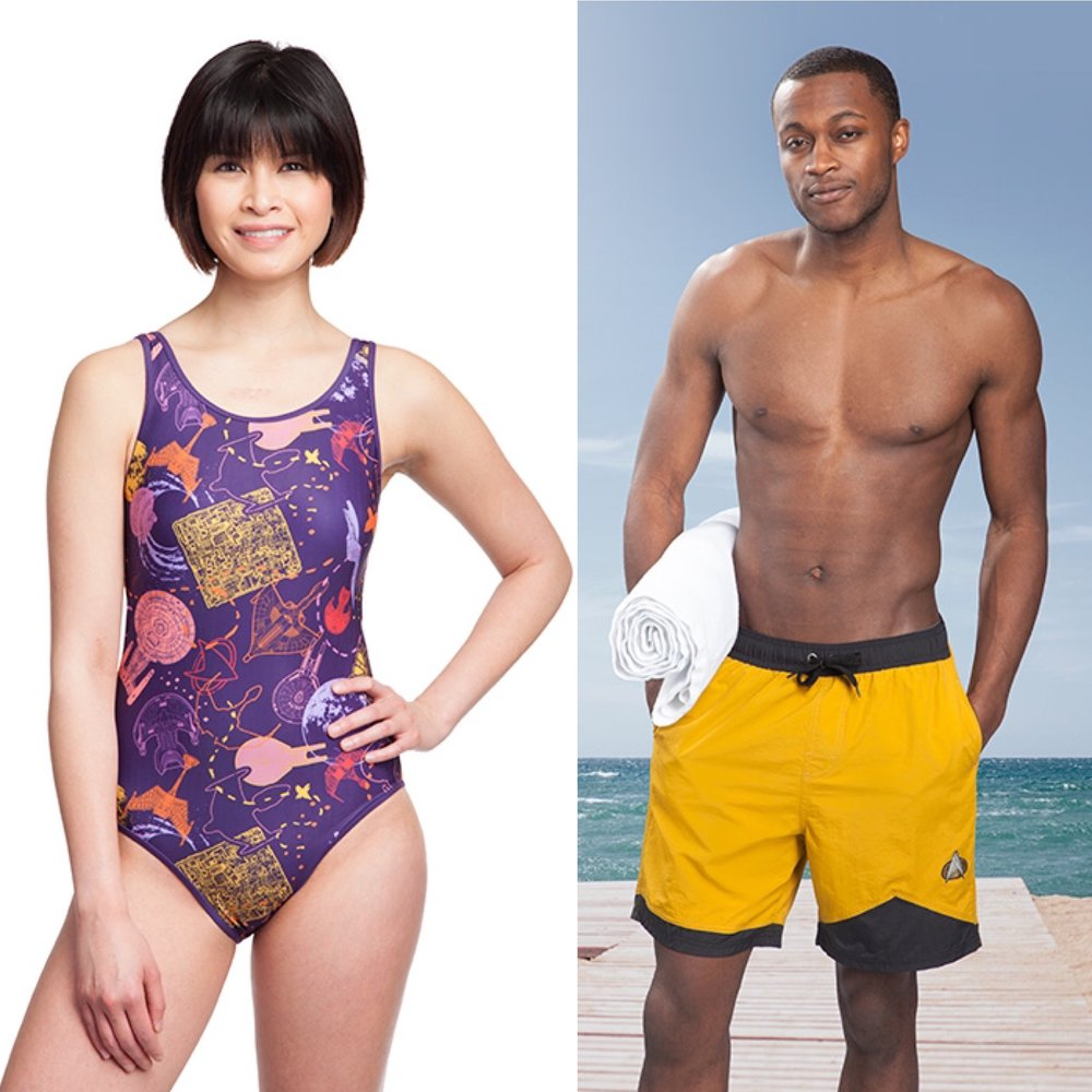 be22f34453 New  Star Trek  Swimwear That s Perfect For Shore Leave — Fashion ...