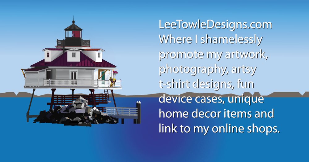LeeTowleDesigns.com, home of artist Lee Towle. Showcase digital artwork, photography, t-shirt designs, custom device cases, unique home decor items and links to online shops.