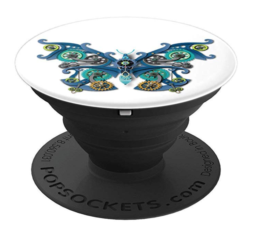 Steampunk Butterfly Popsocket, available at Amazon.com.