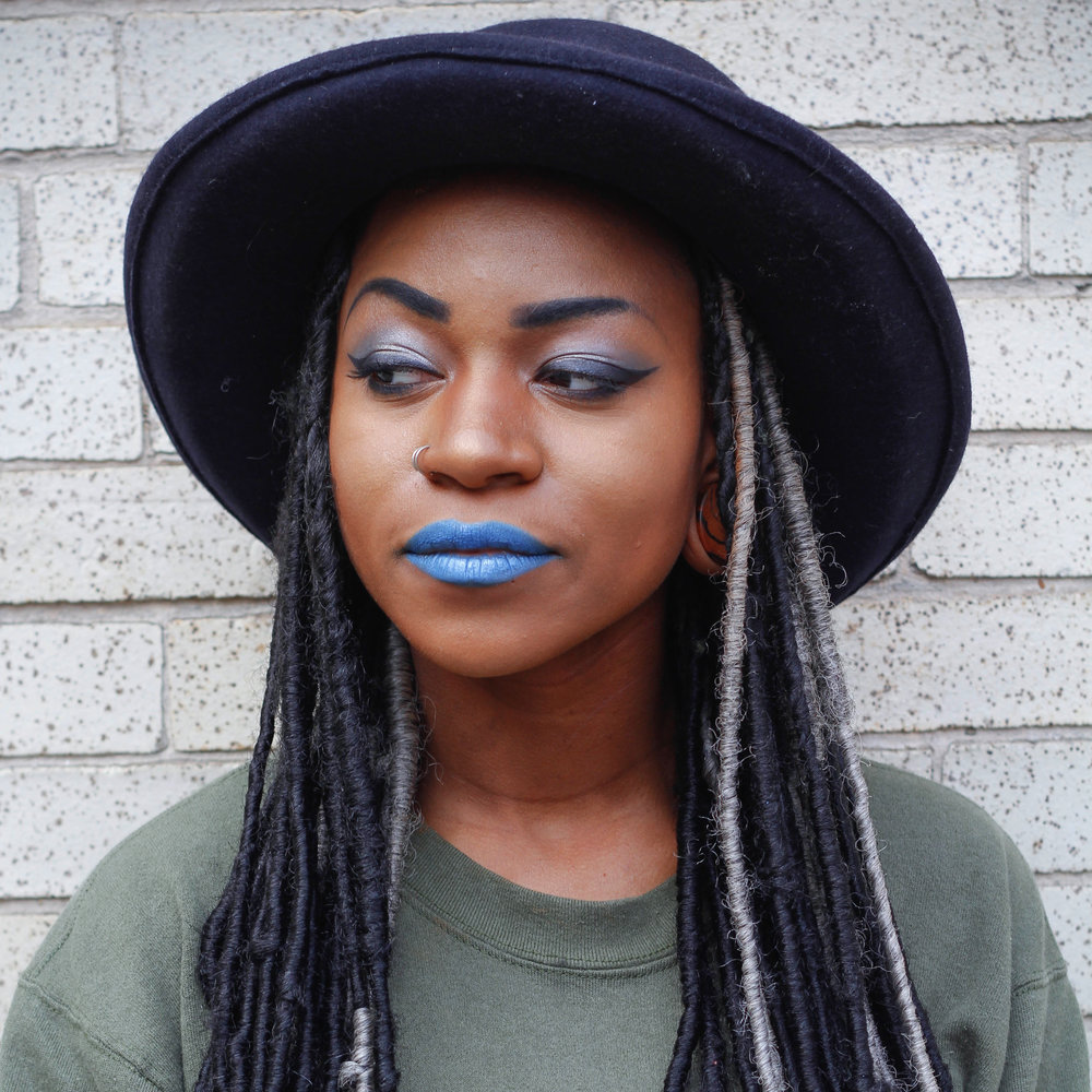 Janéka Johnson   Janéka is a model and maker from Pittsburgh. Between welding, cosplay, wood working, and being a mom to Teagan, this gal stays busy! IG:  @janeko87