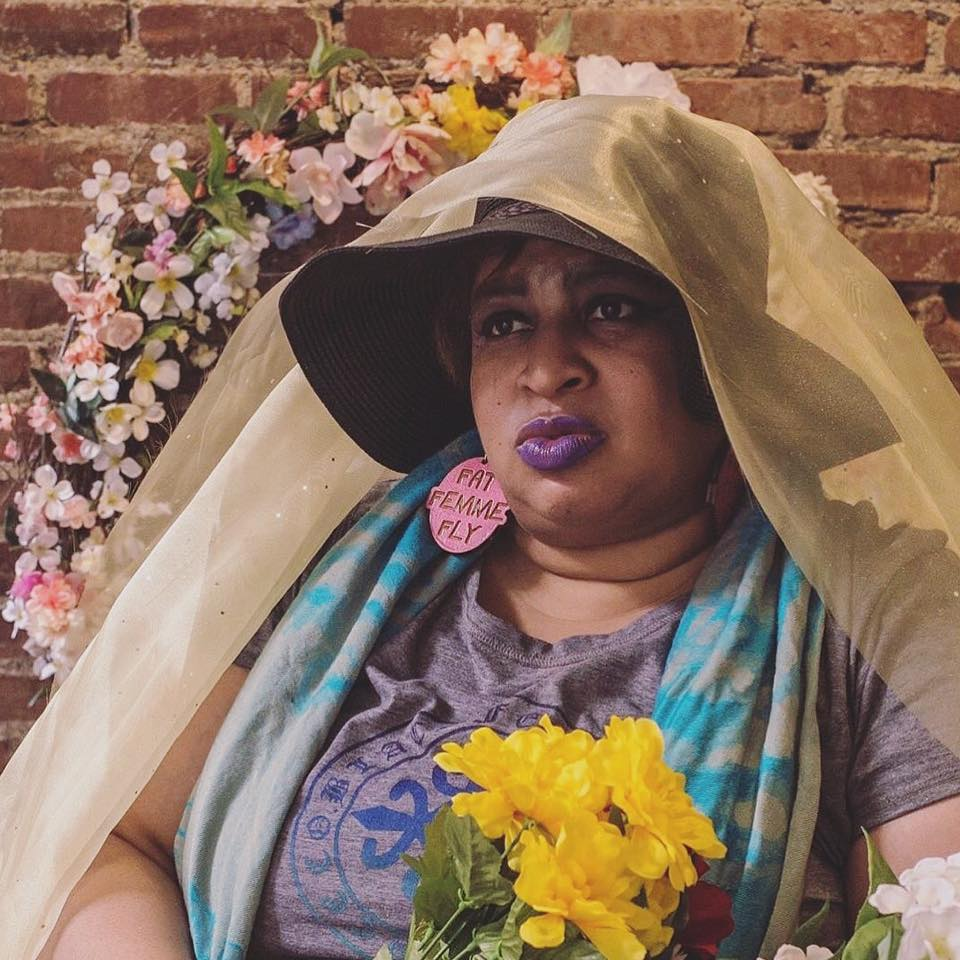 "Celeste Marie  Celeste is an activist and founder of Fat Femme and Fly 412, an organization that aims to take down fat shaming and promote self love for femmes of all genders. In her own words, ""We are fat fly and femme! We are not a fetish! We are not to be hidden! We are loud and we are proud!"" IG:  @fatfemmeandfly412"
