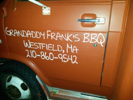 Grandaddy Frank's - Westfield, MA - Owner Gaylon Stanley grew up and lived in TX for 20 yrs. Smoked meats and homemade family recipes with southern, Tex-Mex, soul and comfort food influences!
