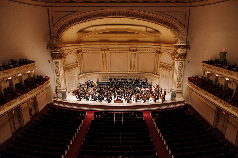 Carnegie Hall, New York, 2019.