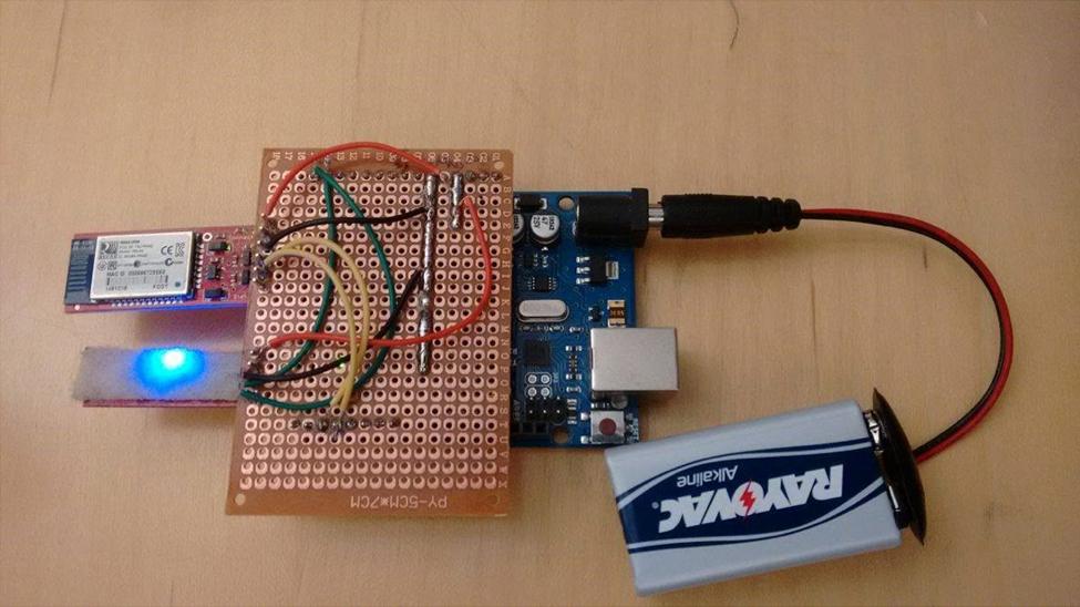 Arduino (IMU based) Prototype