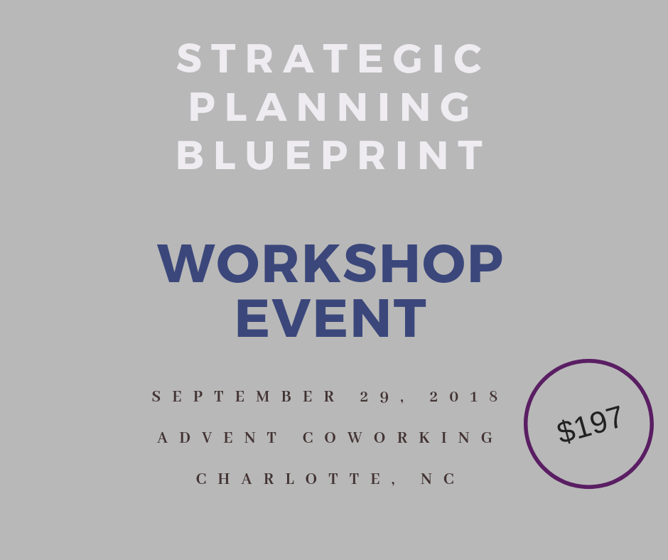 The Strategic Planning Blueprint: How to Scale Your Business Confidently - Jennifer and Tessa are a dynamic duo based in Charlotte, NC who have combined their experience and love for teaching to host the Strategic Planning Blueprint Workshop in September. It is their goal to help business owners to scale confidently in 2019 by planning now. With the holidays just around the corner, it's time to start prioritizing the focus and vision for the new year. Let us help you to gain clarity and create a plan you can realistically execute. Visit http://bit.ly/2LTkXNO to purchase your tickets today!