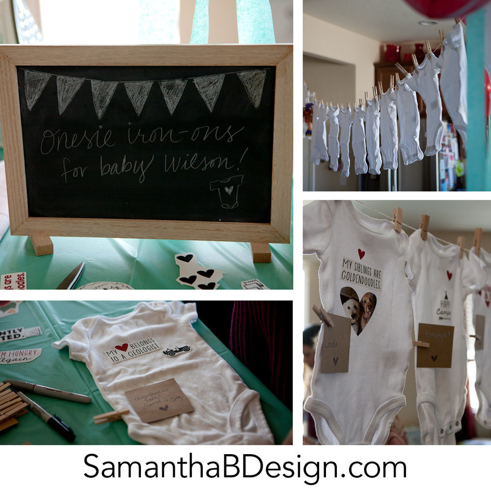 Iron On Transfer Baby Shower Activity 1