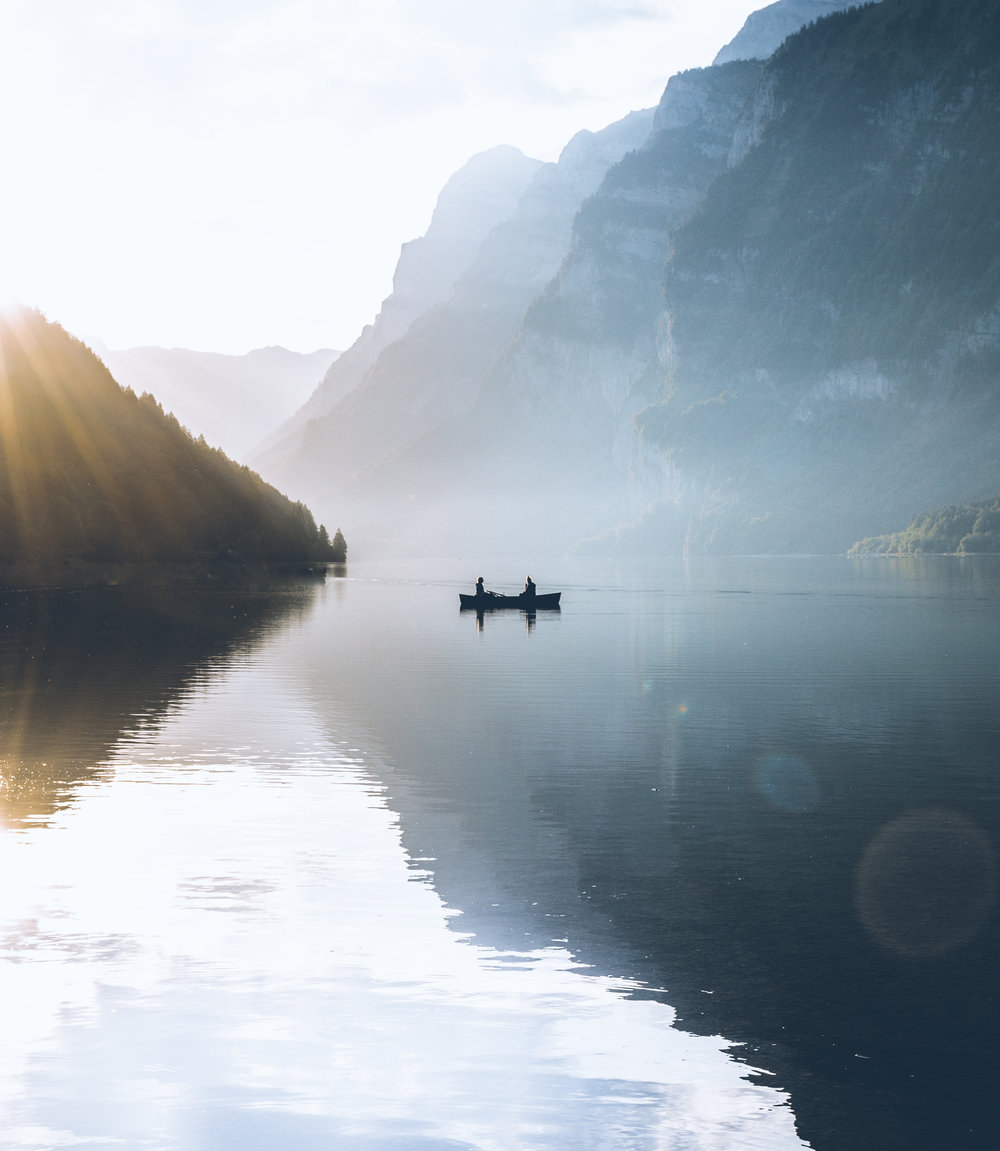 Misty Canoe -