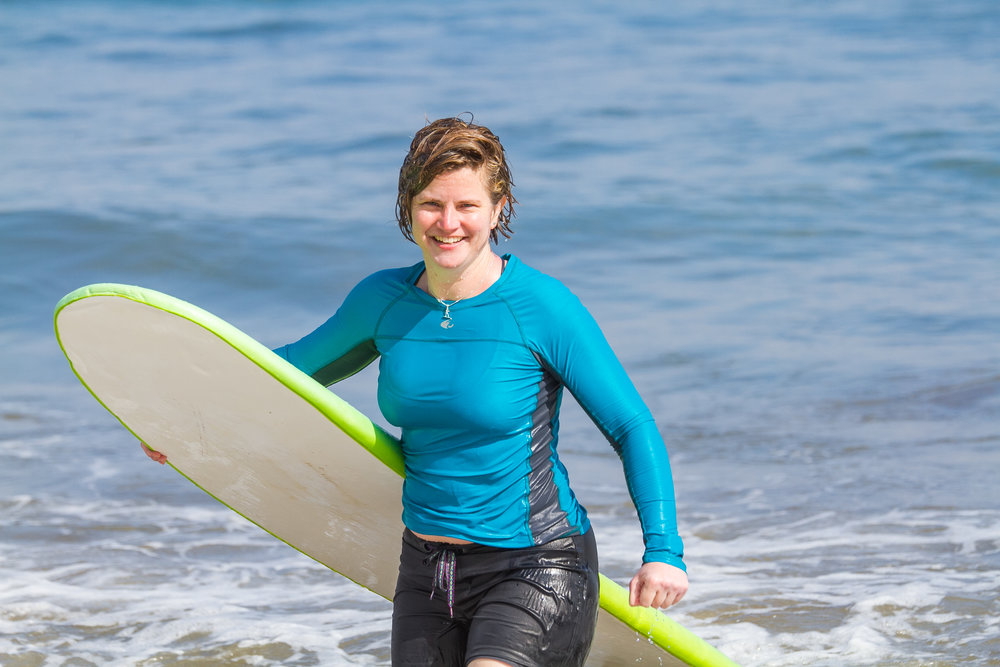 after catching a great wave ~ women's surf & yoga retreat in mexico (Feb 2017)