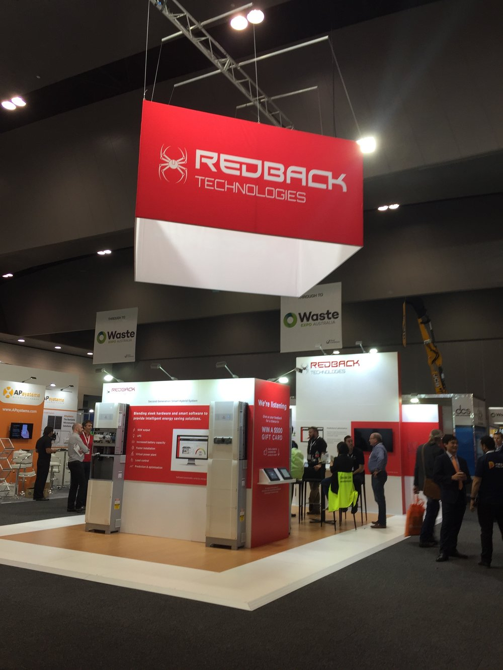 REDBACK TECHNOLOGIES @ SOLAR ENERGY AND ALL ENERGY