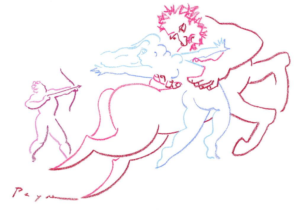 richard payne artist Hercules Nessus Deianira