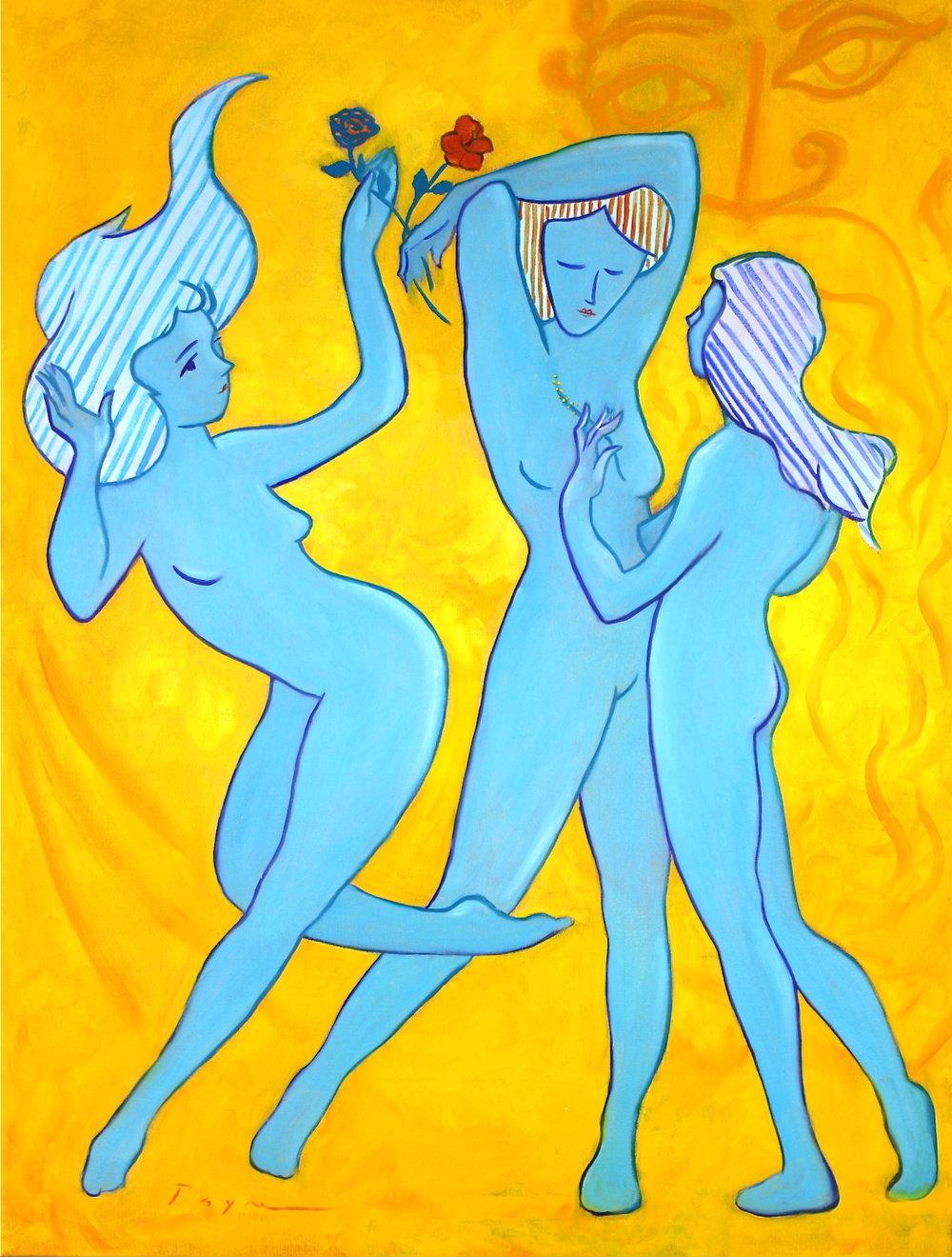 richard payne artist - the three graces