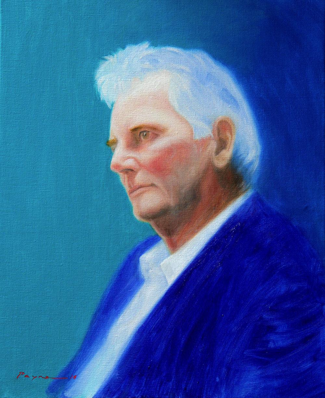 richard payne artist - bill jones portrait