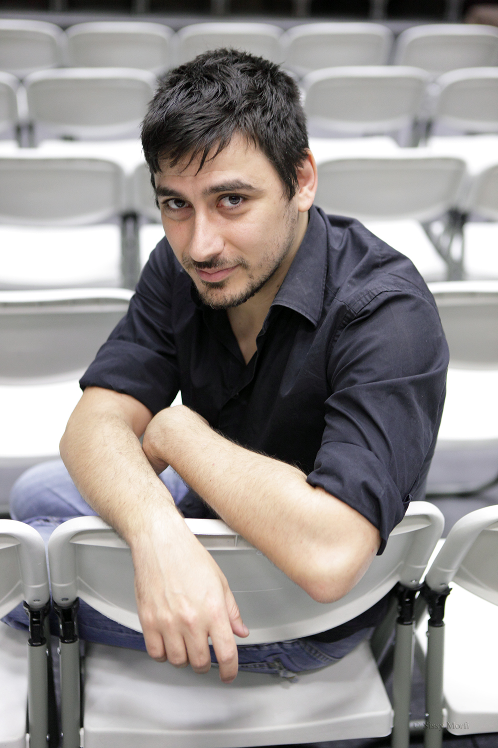 Vasilis Mavrogeorgiou / director-theatre writer-actor / Metropolis No 1008