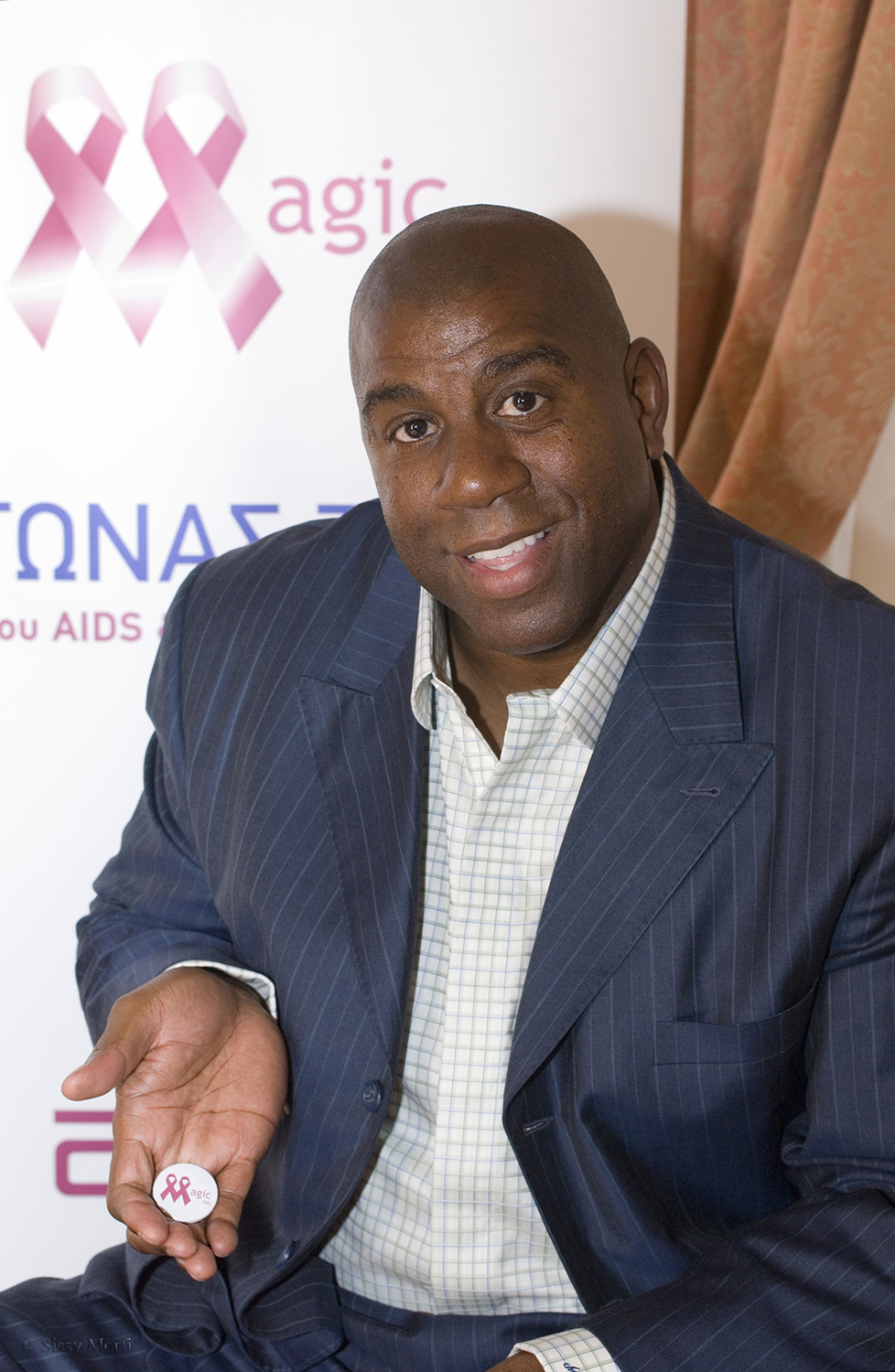 Magic Johnson / basketball player