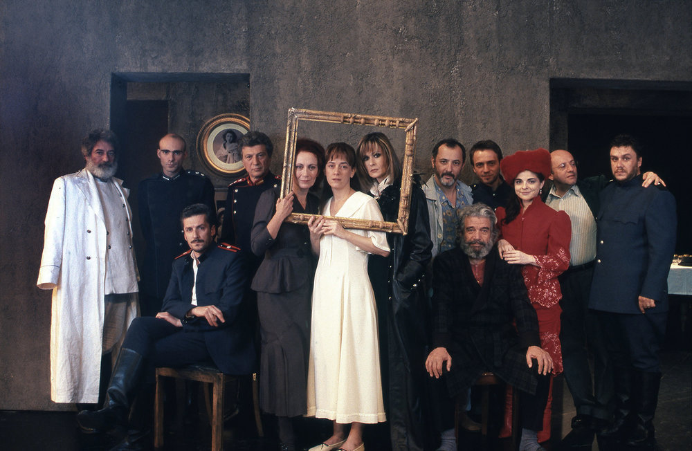 """Three Sisters"" / Katia Dandoulaki theatre, 2005 / by Anton Chekhov / dorected by Nikita Miliyovevits / MEN No 134"