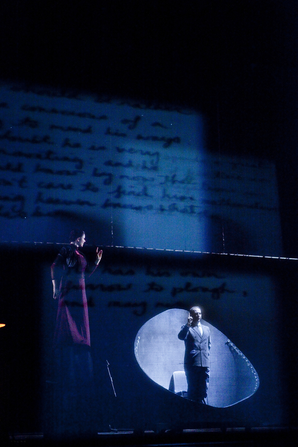 """Turing Opera"" / Greek National Opera-Experimental Opera-Olympia theatre, 2011 / music William Antoniou / libretto Eamonn Farrell / music direction by Iakovos Konitopoulos"