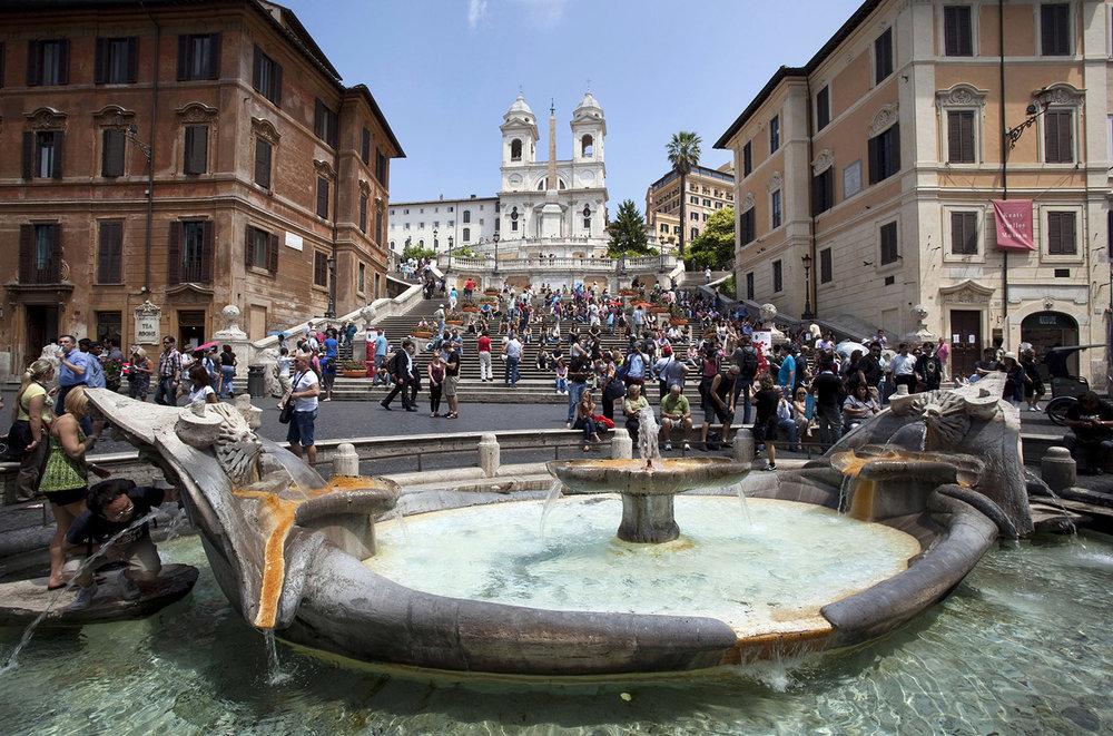 Italy / Rome / Piazza di Spagna