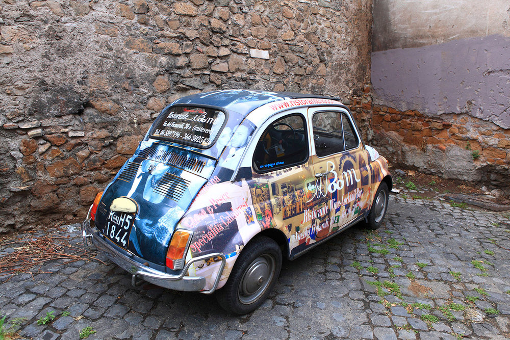 Italy / Rome / Fiat 500