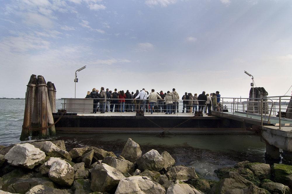 Italy / Murano-Venice / The dock