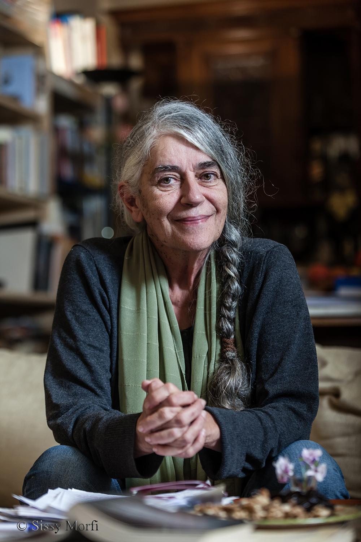 Ioanna Karystiani / author / BHMA Culture newspaper Sunday, 28 October 2018