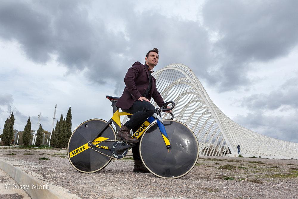 Christos Volikakis / track cyclist / BHMagazino No 79