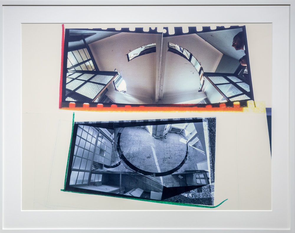 Gordon Matta-Clark, Office Baroque, Cibachrome, c. 1977, Courtesy of Jean-Paul Najar Foundation
