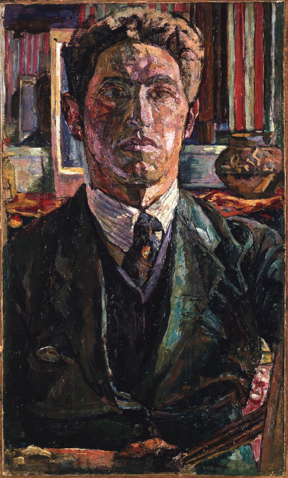 Alberto Giacometti.Self-portrait (1923) Kunsthaus Zurich - Alberto Giacometti Stiftung. Courtesy: Alberto Giacometti © Giacometti Estate (Fondation Giacometti + ADAGP)