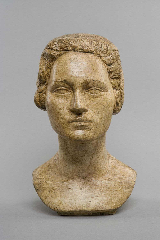 Alberto Giacometti.Head of Ottilia (1925) Fondation Giacometti, Paris. Courtesy: Alberto Giacometti © Giacometti Estate (Fondation Giacometti + ADAGP)