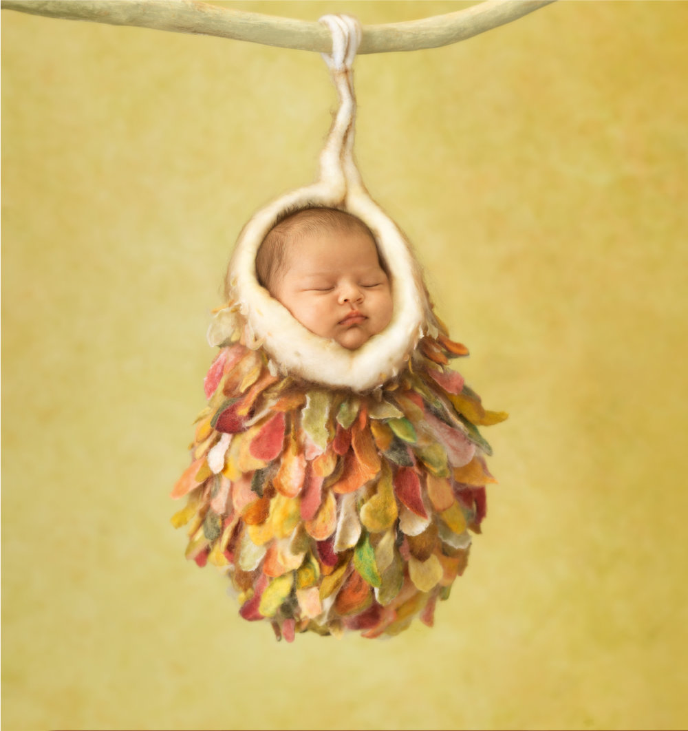 Mia, 4 weeks, Sydney, 2012. Courtesy of Anne Geddes and Taschen