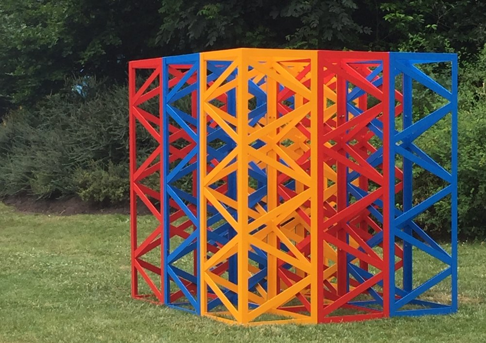 Summertime, Regents Park, Rasheed Araeen. Courtesy of Grovesnor Gallery