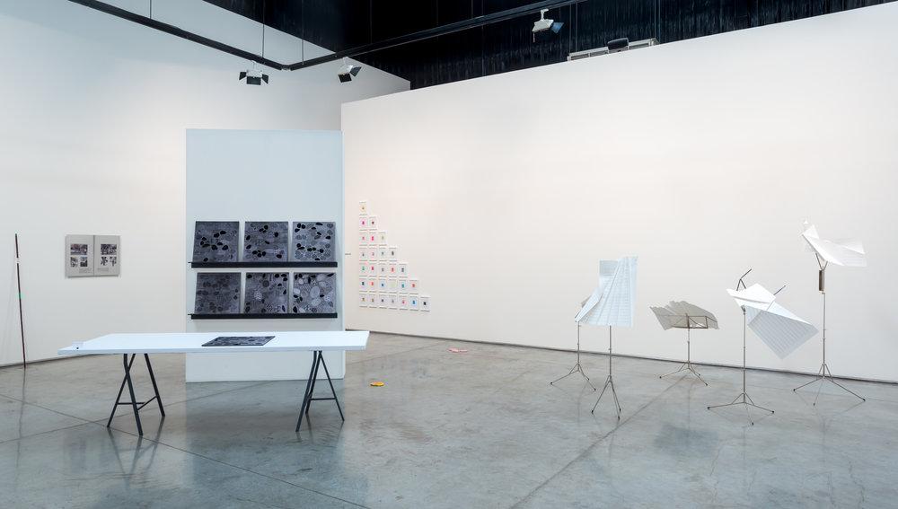 Installation view. Good Printing, Gallery Isabelle Van Den Eynde, Alserkal Avenue, Dubai. Courtesy Gallery IVDE