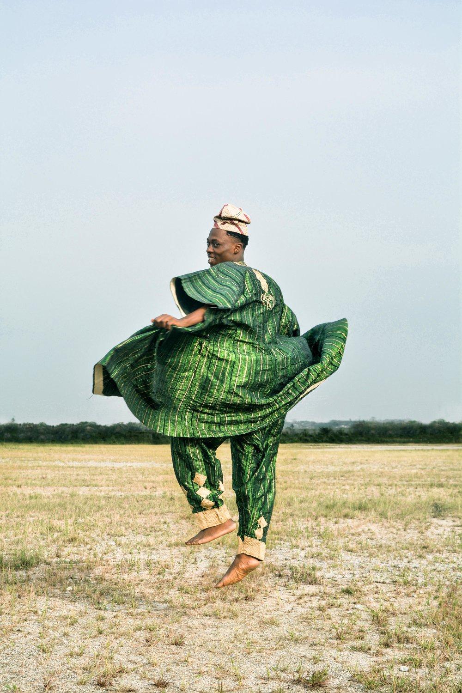 Adeolu Osibodu. Losing Amos. Shot in Ogun State, Nigeria