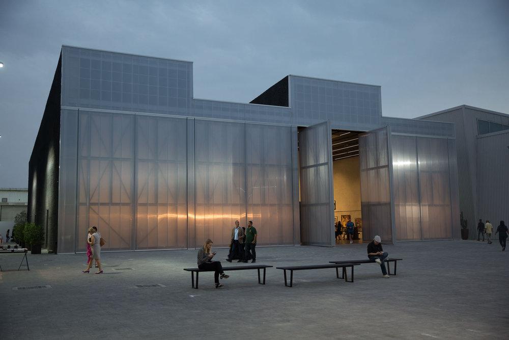 Concrete, an OMA designed building in Alserkal Avenue, Dubai. Courtesy Arch. Season '17.