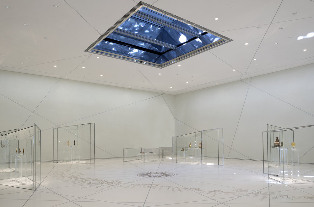 Louvre Abu Dhabi – The Great Vestibule © Louvre Abu Dhabi - Photography Marc Domage