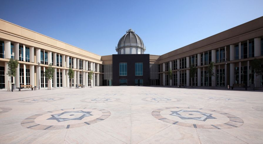 Paris Sorbonne University in Abu Dhabi. Courtesy PSUAD