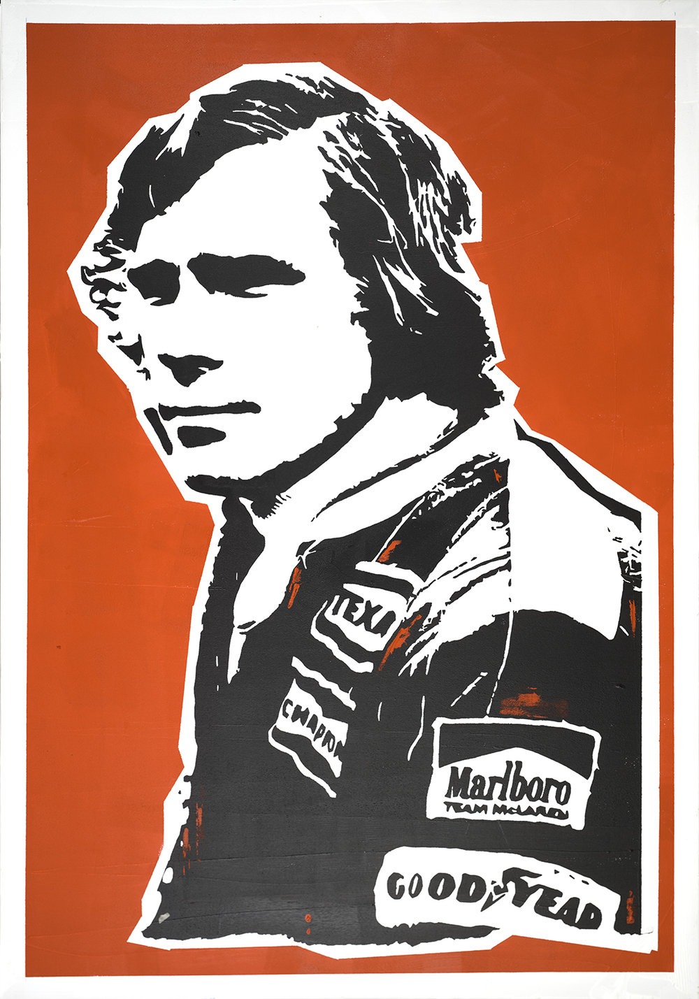 James Hunt by Julian Castaldi. Courtesy of the artist and Mestaria