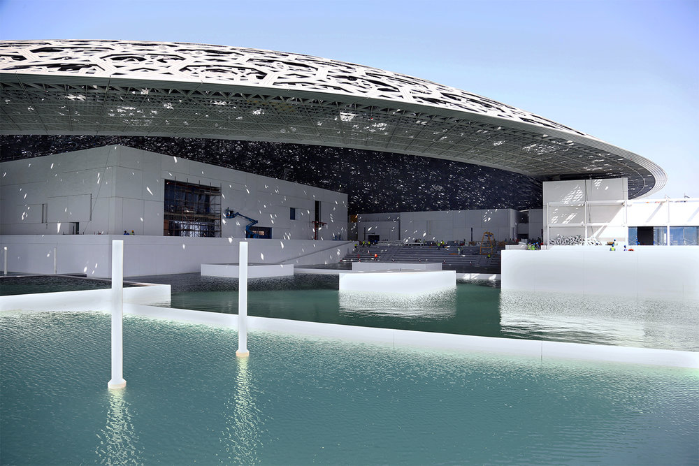 Louvre Abu Dhabi. Architect - Ateliers Jean Nouvel © Abu Dhabi Tourism and Cultural Authority