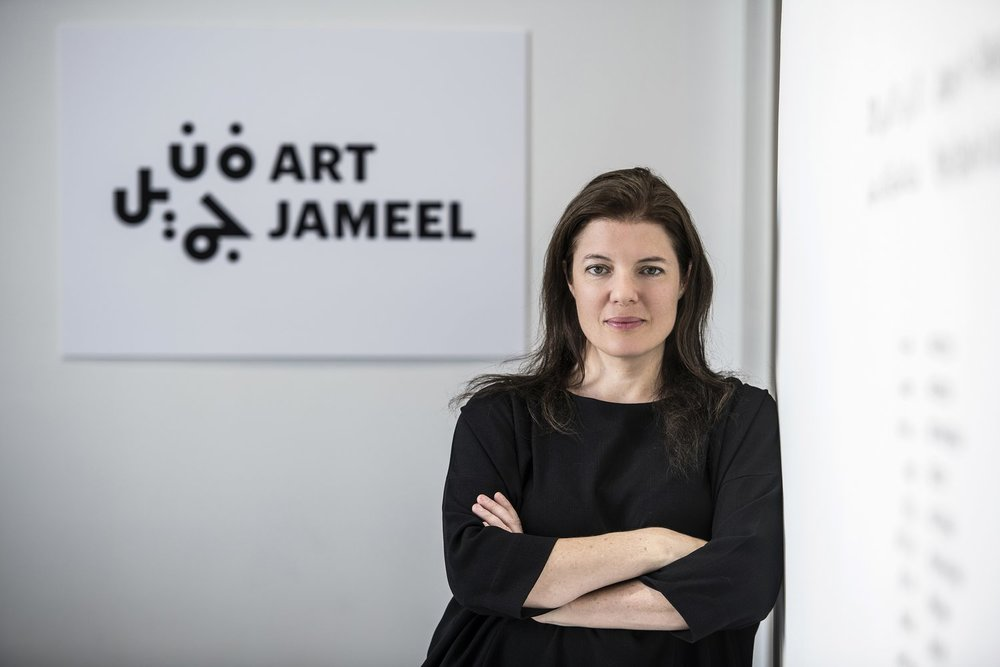 Antonia Carver is the director of Art Jameel