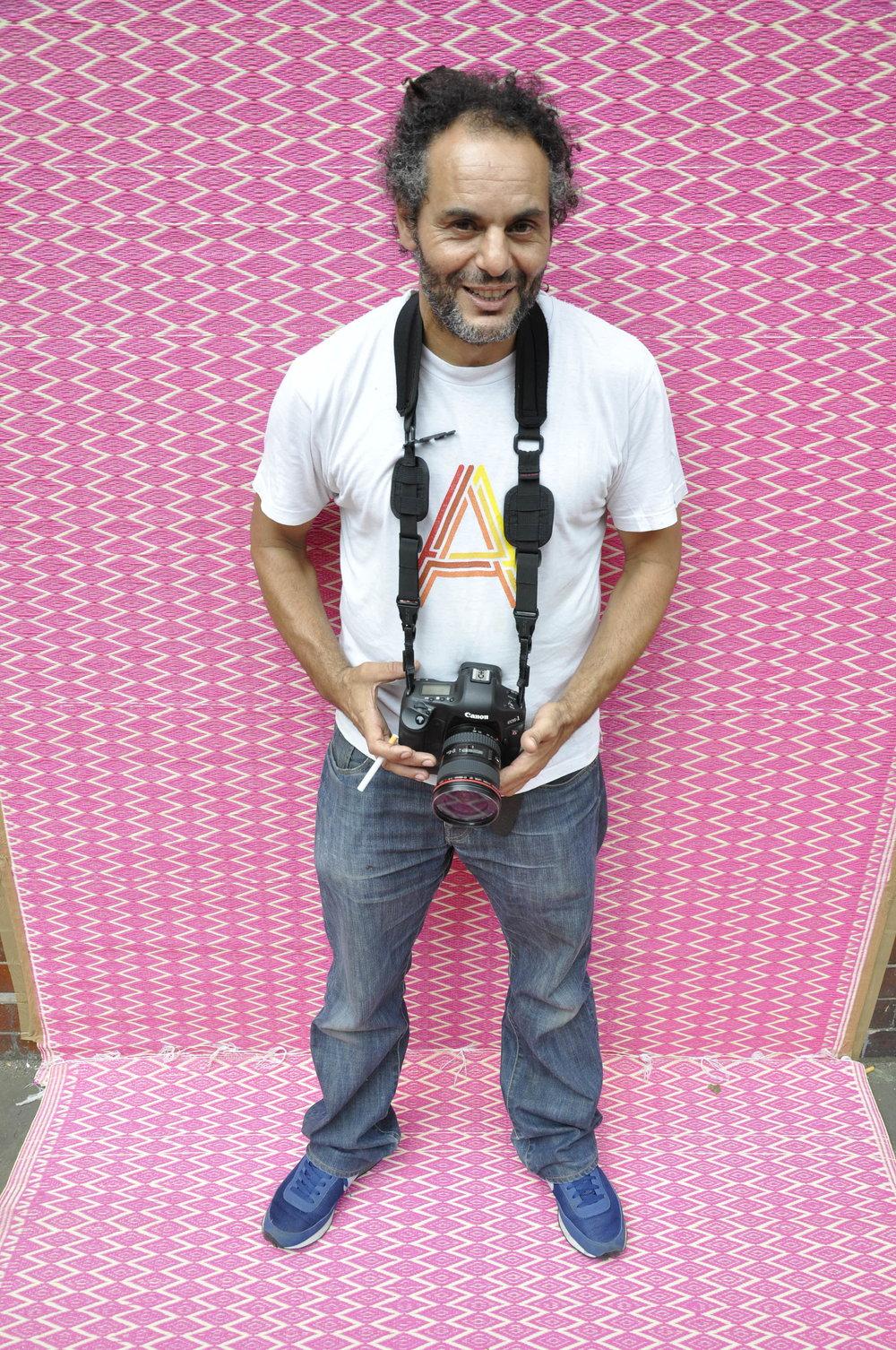 Hassan Hajjaj by Jenny Fremont. Image courtesy of Hassan Hajjaj