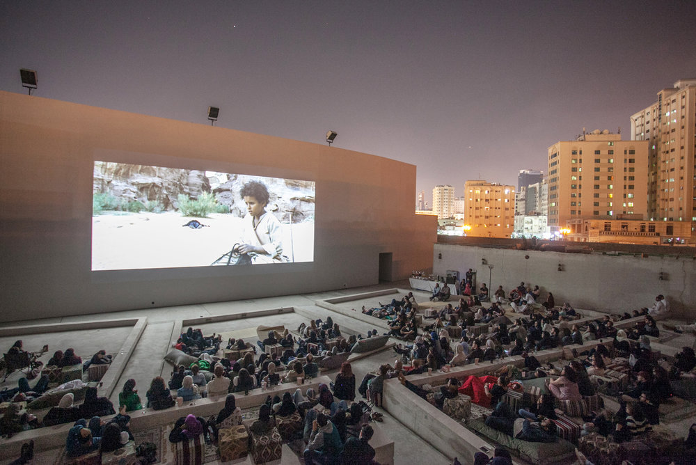 Sharjah Film Platform is an annual programme organised by Sharjah Art Foundation, aims to support film production in the United Arab Emirates. Courtesy SAF