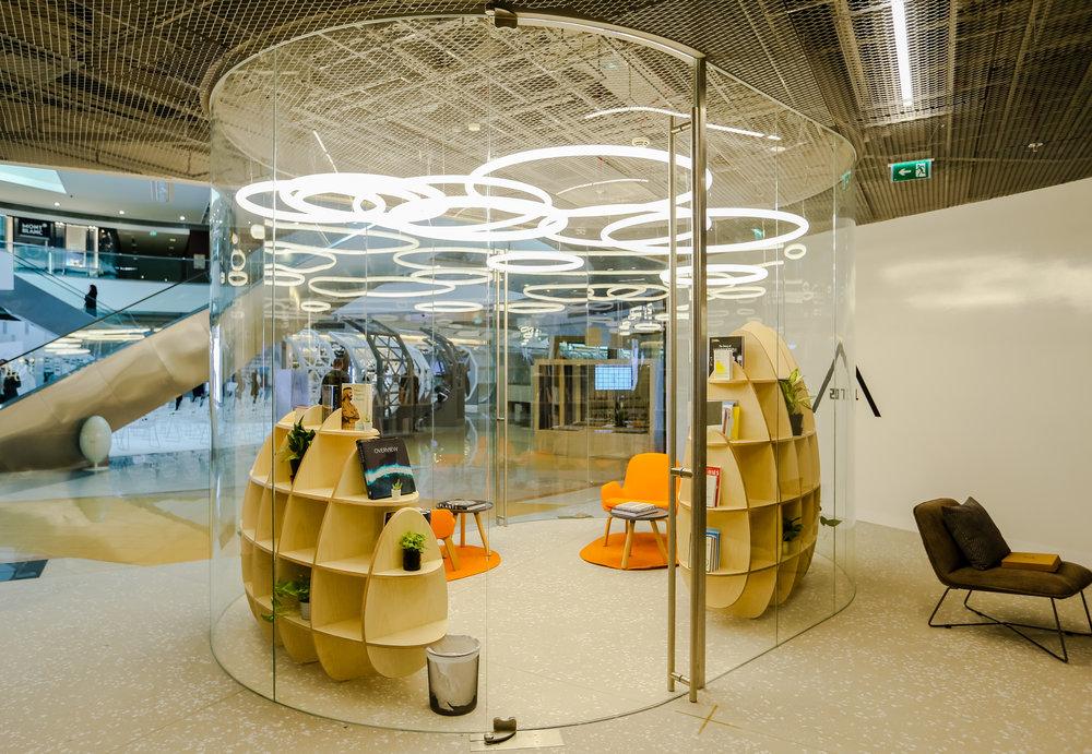Inside Area 2071, the beating heart of Dubai Future Foundation. Image courtesy DFF