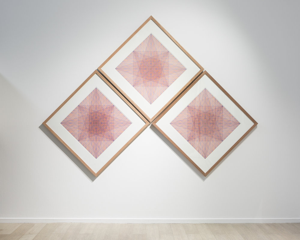 Nima Nabavi, Series 3 (installation view). Image courtesy of the artist and The Third Line.