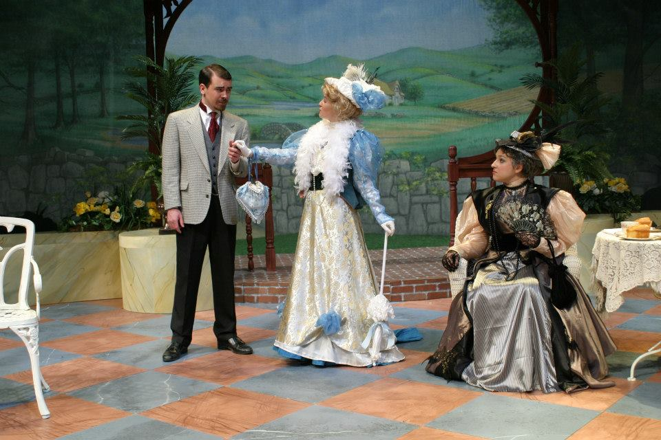 The Importance of Being Earnest , Assistant Director, Alma College, 2013.  Photo Credit: Joseph Jezewski