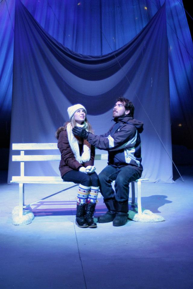 Almost, Maine , Director, Alma College, 2013.  Photo Credit: Joseph Jezewski