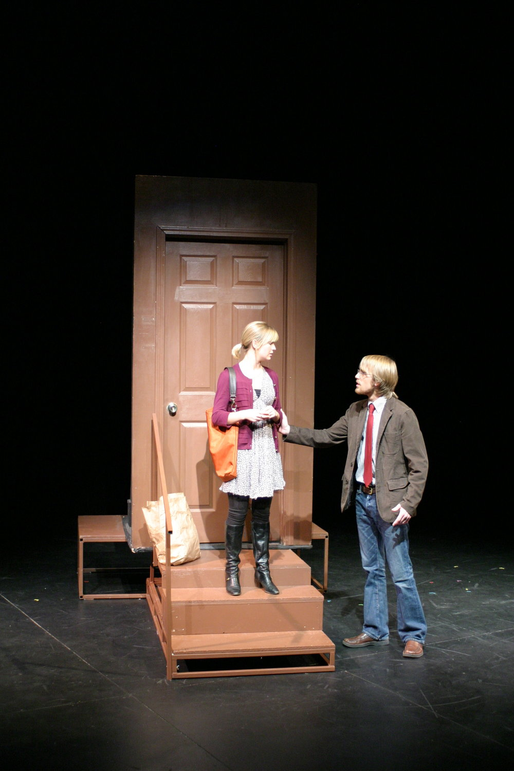 Two Truths And A Lie, Director, Alma College, 2010.  Photo Credit: Joseph Jezewski