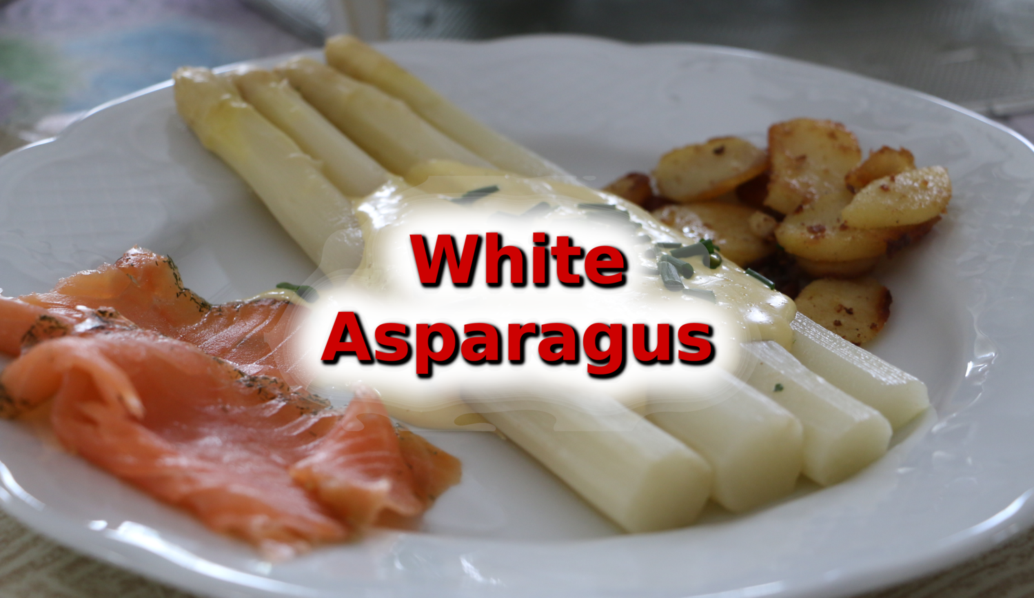 White Asparagus Is Everywhere Lab Rat Abroad