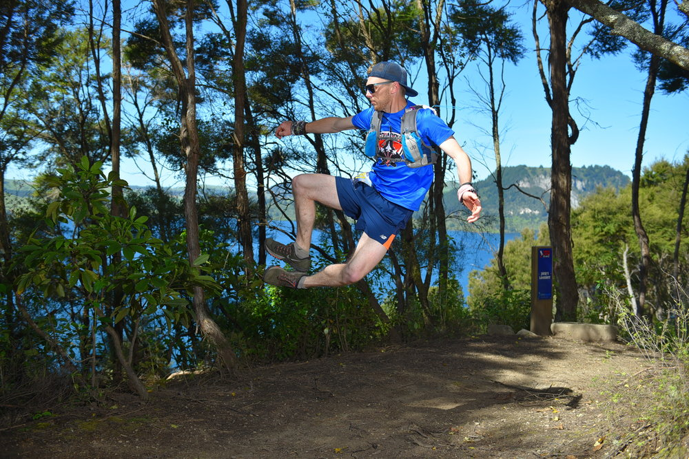 Me running in the Taupo Ultramarathon 50km - Photo  Photos4sale